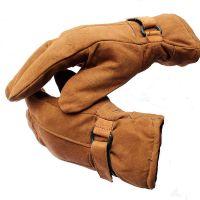 Ramanta Men's Soft Leather Warm Winter Riding Gloves- Amazon