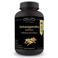 Sinew Nutrition Ashwagandha General Wellness Tablets 500mg (90 No.) | Anxiety Relief, Stress Support & Mood Enhancer Natural Supplement- Amazon