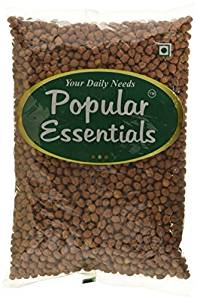 Popular Essentials Premium Black Chana, 1kg