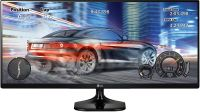 LG 25 inch (63.5 cm) Ultrawide LED Monitor - Full HD, IPS Panel with, HDMI, Audio Out, Heaphone Ports - 25UM58 (Black)- Amazon