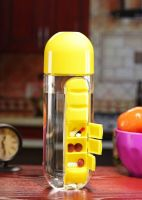 MasterCool Pill Organizer 600 ml Bottle  (Pack of 1, Yellow)- Flipkart