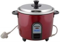 Panasonic SR-WA10 ge9 Automatic Electric Rice Cooker (Burgundy)- Amazon