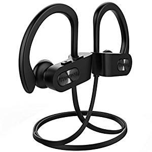 Mpow Bluetooth Wireless IPX7 Waterproof Earphones with Mic, HD & Richer Bass,...