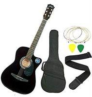 Jixing JXNG 6 Strings Acoustic Guitars(Black)- Amazon