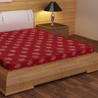Story@Home Premium 4-inch King Size Foam Mattress (Maroon, 75x72x4)- Amazon