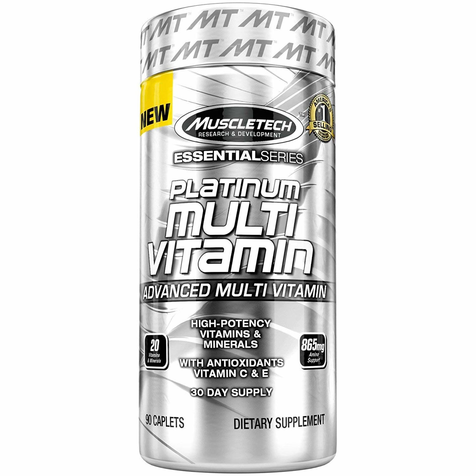 [Lowest Ever] Muscletech Essential Series Platinum Multivitamin - 90 Tablets - Paytm Mall