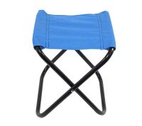 NISUN Small Size Folding Chair Stool Multipurpose For Camping Hiking Fishing Picnic Blue (8.3 x 9.8 inch)- Amazon
