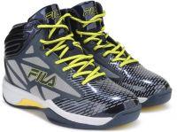 Fila ZONE BasketBall Shoes For Men(Navy)- Flipkart