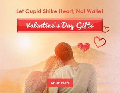 Valentine Week Offer: Get Upto 85% Off on Valentine Gifts for Men and Women