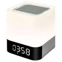 [LD] Chevron Xtreme 5 in 1 Bluetooth Speaker with Bedside Lamp, MP3 Player, USB, AUX, Alarm Clock, Touch Sensor, Support TF and SD Card- Amazon