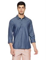 70% Off on Breakbounce Men's Casual Shirt- Amazon