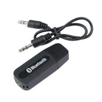 USB Bluetooth Audio Receiver 3.5mm Music Adapter Dongle Speakers Car Mp3 Etc- Amazon