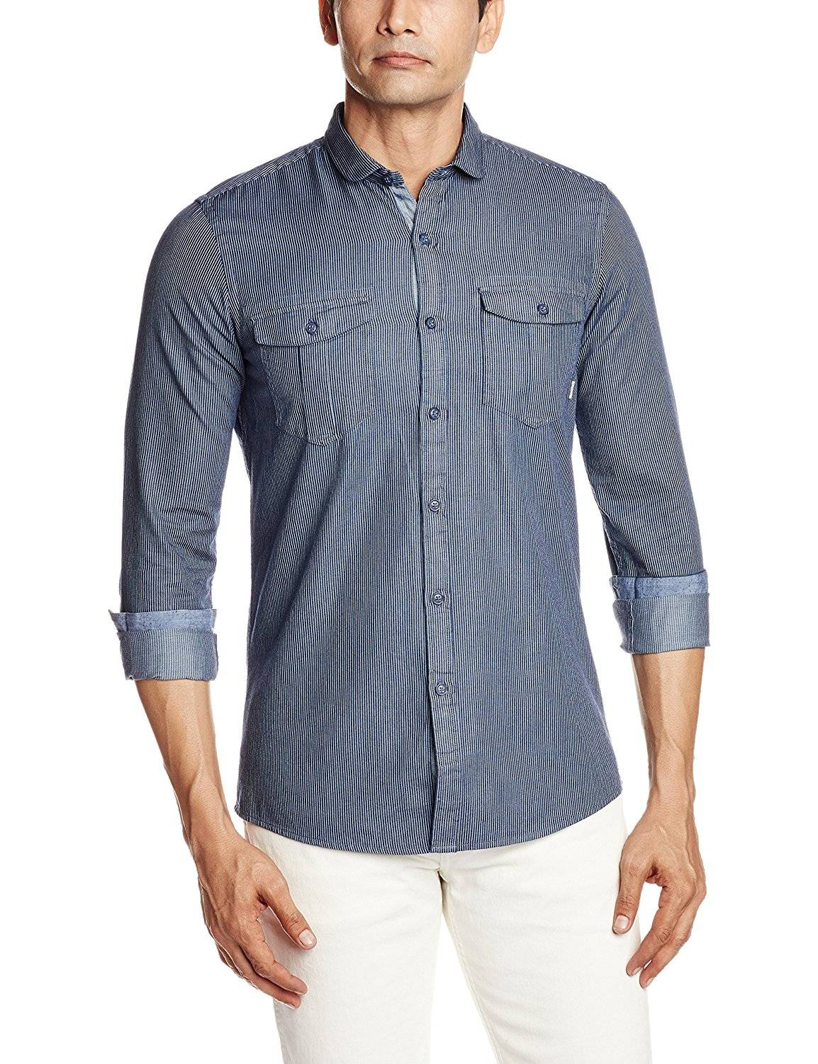 Flat 70% Off on Men Shirts from UCB, Allen Solly, French Connection and Many More