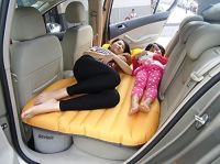 FWQPRA Car Travel Inflatable Sofa Mattress Air Bed Cushion Camping Bed Rear Seat with Pillow and Pump- Amazon