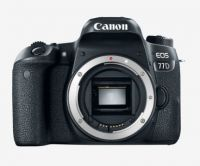 Canon EOS 77D DSLR Camera Body 16 GB Card + Carry Case (Black)- Tatacliq