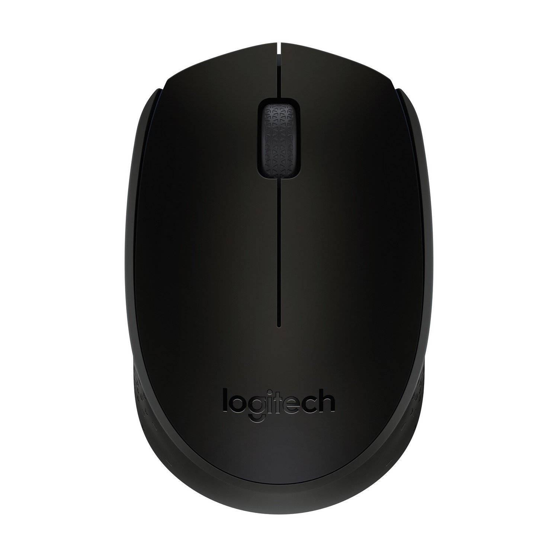Logitech B170 Portable Wireless Mouse , Advanced optical tracking (Black)
