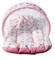 Amardeep and Co Toddler Mattress with Mosquito Net (Pink)- Amazon