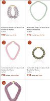 Beads Necklace and Bracelets @rs.10/- (zero shipping charge)