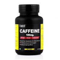 Healthvit Fitness Caffeine 100 mg - 60 Tablets (Energy, Focus & Endurance)- Amazon