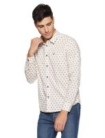 (Size Xl) Pepe Jeans Men's Printed Regular Fit Casual Shirt- Amazon