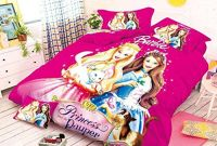 SinghsVillas Decor Barbie Cotton Single Bedsheet with Pillow Covers (Pink)- Amazon
