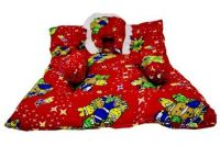 First Smile Newborn Baby Bedding Mattress with Pillow (Red)- Amazon