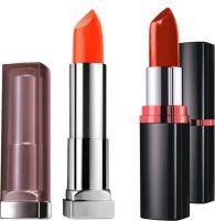 Maybelline New York Lipstick Combo Pack (Color Sensational Creamy Matte Lipstick, Craving Coral + Color Show Lipstick, Warm Caramel)(Craving Coral and Warm Caramel)- Flipkart