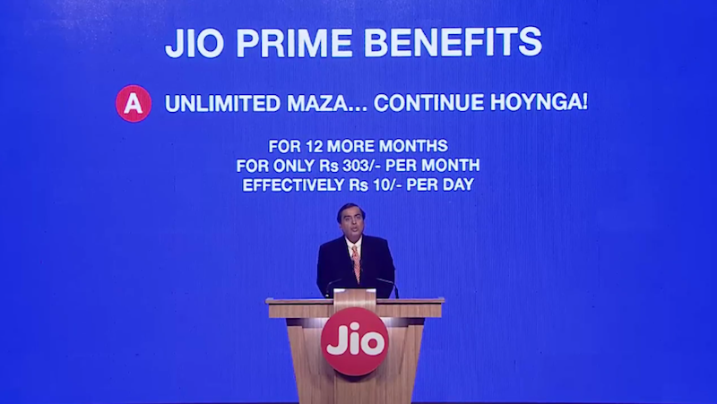 Reliance is considering to extend its Jio Prime Membership for another month