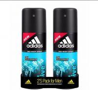 ADIDAS Ice Dive Deodorant Spray  -  For Men(300 ml, Pack of 2)- Flipkart