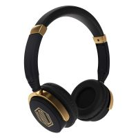 Nu Republic Nu Funx Wireless Headphones with Mic (Black and Gold)- Amazon