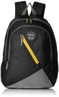 Gear 28 Ltrs Black and Yellow Casual Backpack (BKPBLOCKY0112)- Amazon