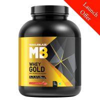 [LD] MuscleBlaze Whey Gold 100% Whey Protein Isolate (Strawberry Shake, 2 Kg / 4.4 lb)- Amazon