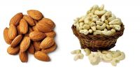 Ancy 100% Natural Jumbo Almonds and Cashews (Badam and kaju), 500gm (Pack of 2x250)- Amazon