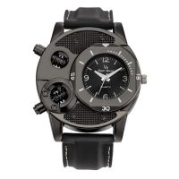 AST Works V8 Super Speed Black Men's Sports Quartz Watch Fashion Thin Silica Gel Exotic- Amazon