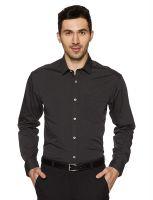(Size 40) Amazon Brand Symbol Men's Plain Regular Fit Formal Shirt- Amazon