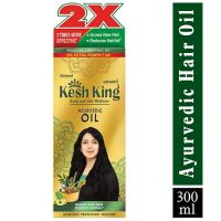 Kesh King Kesh King Ayurvedic Scalp and Hair Oil, 300 ml- Amazon