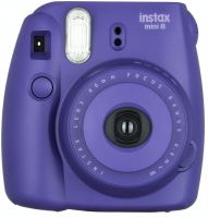Fujifilm Instax Mini 8 Instant Film Camera (Grape)- Amazon