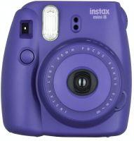 Fujifilm Instax Mini 8 Instant Film Camera (Grape)- Amazon
