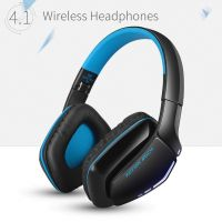 Kotion Each B3506 Wireless Bluetooth Headphone with Mic (Black/Blue)- Amazon