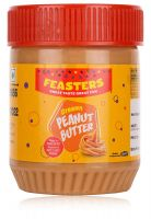 [Pantry] Feasters Peanut Butter Creamy Bottle, 227g- Amazon