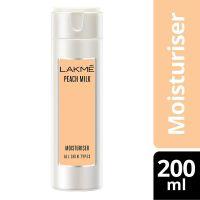 Lakme Peach Milk Moisturizer Body Lotion, 200 ml- Amazon