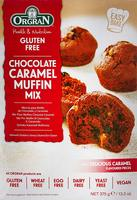 Orgran Chocolate Caramel Muffin Mix, 375g