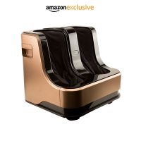 Lifelong LLM99 Foot, Calf and Leg Massager, 80W, 4 Motors, Brown- Amazon