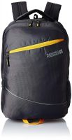 American Tourister 32 Ltrs Grey Laptop Backpack (AMT AERO Laptop BKPK 02-Grey)- Amazon