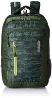American Tourister Polyester 28 Ltrs Olive Laptop Backpack (AMT TECH GEAR LAPTOP BP 03-OLV)- Amazon