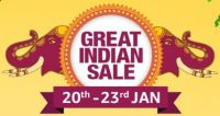 [Few Hours Left] Amazon Great Indian Sale 20th - 23rd Jan- Amazon