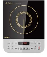 Philips Viva Collection HD4928/01 2100-Watt Induction Cooktop (Black)- Amazon