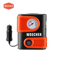 Woscher 1610 12V DC Portable Mini Tyre Inflator (Black)- Amazon