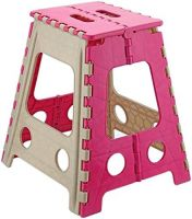Primelife Step Stool 18 inch with Anti Slip Dots (Pink)- Amazon