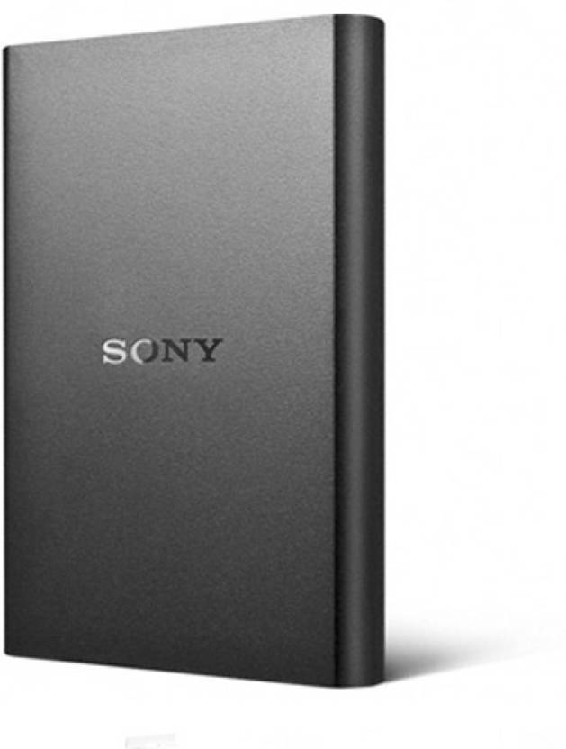 Sony 1 TB Wired External Hard Disk Drive  (Black) with 3 years Warranty